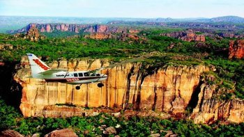 Kakadu Wetlands Airplane Flight