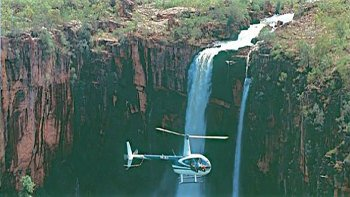 Kakadu National Park Magela Falls Heli Flight