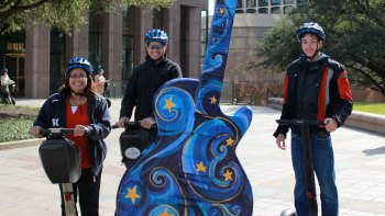 Austin Sightseeing Tour Segway Tour