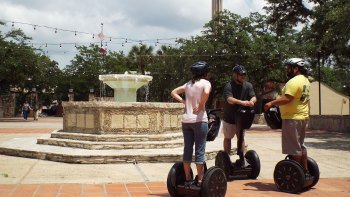 Activity San Antonio Sightseeing Tour Segway Tour