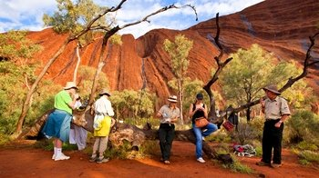 Small Group Full Uluru Base Walk at Sunrise