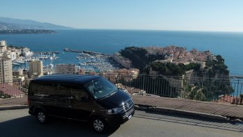 Full-Day Private Driver & Car from Monaco