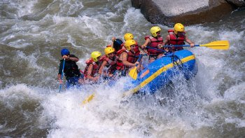 Overnight Whitewater Rafting Trip