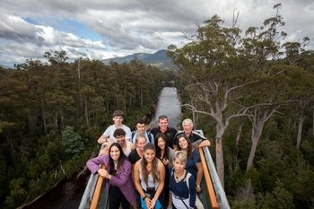 Full-Day Tahune Airwalk & Hastings Cave Tour from Hobart