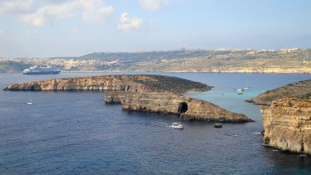 Comino & Blue Lagoon Day Cruise with Lunch