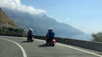 Private Amalfi Coast Sightseeing Tour on a Vintage Vespa from Sorrento