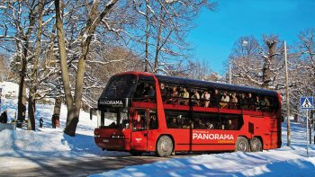 Winter City Tour by Bus & Boat