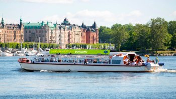 Hop-on, hop-off-boottocht door Stockholm