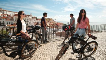 Small-Group City of the Seven Hills Tour by Electric Bike