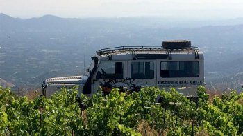 Secrets of Wine & Olives Full-Day Tour by 4x4 from Chania