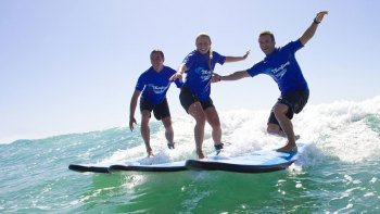 Byron Bay Surfing Lesson