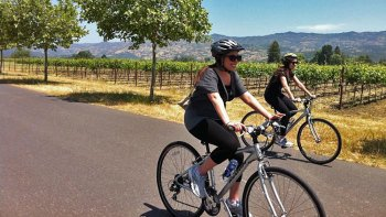 Wine Country Biking Tour with Alcatraz Admission