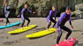 Beginner Surfing Lessons