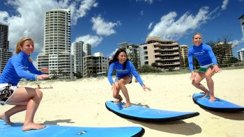 Gold Coast Surfing Lesson