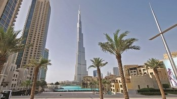 Dubai full day with Burj Khalifa from Abu Dhabi