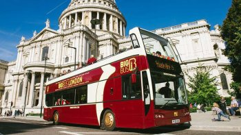 London Hop-On Hop-Off Bus Tour