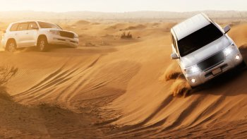 City Tour & 4x4 Desert Safari with BBQ Dinner Combo