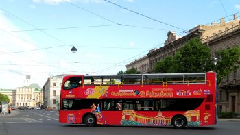 St. Petersburg Hop-On Hop-Off Bus Tour