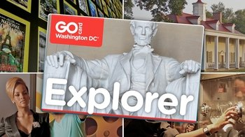 DC Explorer Pass: 3 Museums, Attractions & Tours in 1 Card