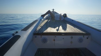 Private Full-Day Boat Charter in the Small Cyclades with Water Activities