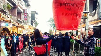 Tour of Historic Jinguashi, Jiufen and Pingxi Towns