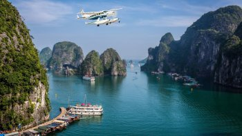 Seaplane Tour & Halong Bay Cruise