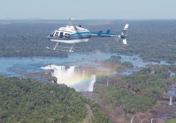 Panoramic Iguazu National Park & Waterfalls Helicopter Tour