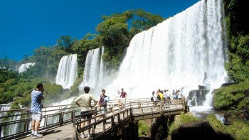 Iguazú Falls Excursion on the Argentinian Side