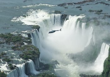 Iguazu Falls with Helicopter Flight