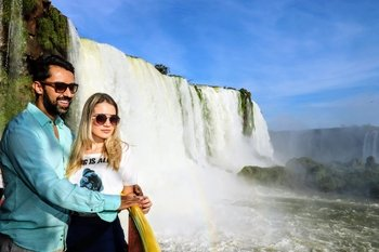 Iguazu Falls with Macuco Safari & Helicopter Tour