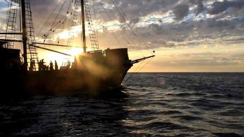 Sailing Adventure Aboard a Pirate Ship