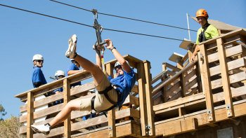 Catalina Island Zipline Tour with Roundtrip Transfers