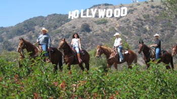 Hollywood Horseback Tour with Roundtrip Transportation