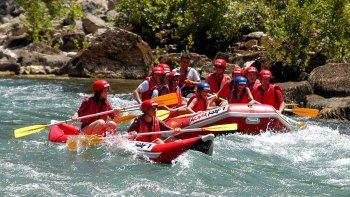 Rafting Tour at Koprulu Canyon National Park