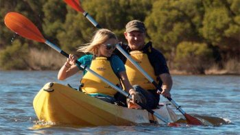 Harriet River Double Kayak Rental by Kangaroo Island Outdoor Action