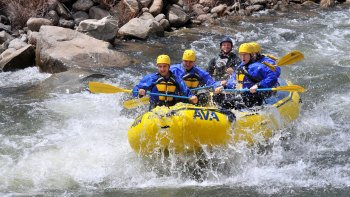 Browns Canyon Rafting with Lunch