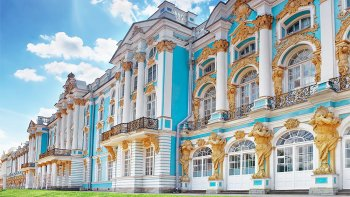 Catherine Palace & Park Guided Tour