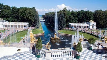 Peterhof Palace & Gardens Guided Tour