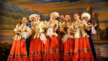 Performance of Russian Folk Dances & Music in St. Petersburg