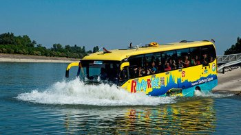 2-in-1-Schwimmbus-Tour