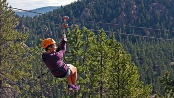 Granite Mountaintop Zipline Tour
