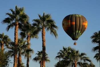 Sunrise Hot Air Balloon Ride above Palm Desert