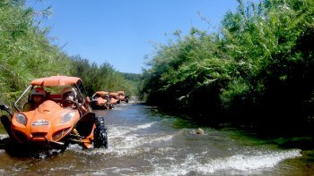 Buggy Adventure: Natural Parks, Springs, Rivers & Hills with Lunch