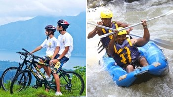 Mountain Cycling & White Water Rafting