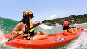Guided Kayaking Trip with Dolphins