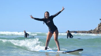 Overnight Mount Warning Tour with Surfing Lesson