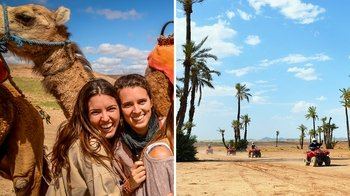 Camel & Quad Bike Combo Full-Day Desert Tour
