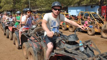 Quad bike Adventure from Marmaris