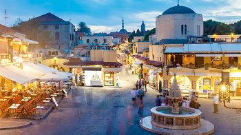 Private Shore Excursion: Rhodes City Tour