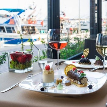 Dining Experience in the Marina at Pure Passion